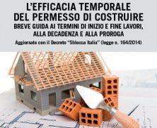 L'efficacia temporale del permesso di costruire