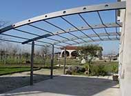 Solo una struttura leggera può essere qualificata come pergolato liberamente installabile